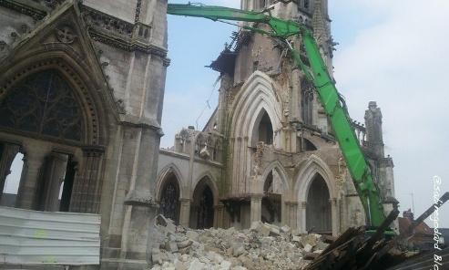 Mobilisons nous contre la destruction de nos Eglises en France représententes de notre patrimoine Chertiens