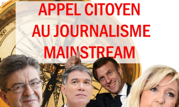 """Journalistes, La """"république en marche"""" et le """"Parti Socialiste"""" ne sont pas de gauche."""