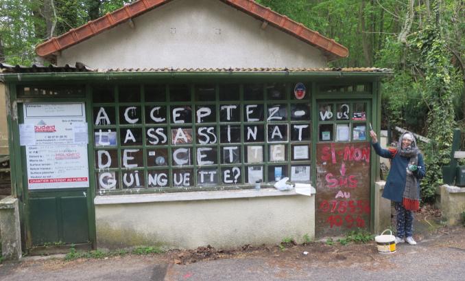 Non à la disparition de la guinguette de l'étang de Trivaux dans la forêt de Meudon