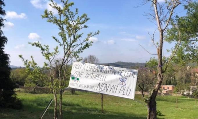 NON à l'urbanisation des coteaux du Mont Saint Quentin de Lessy, OUI à la préservation de la nature