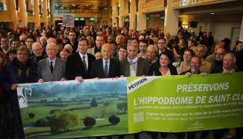 Pétition : Préservons l'hippodrome de Saint-Cloud, non à la construction imposée de cet espace naturel !