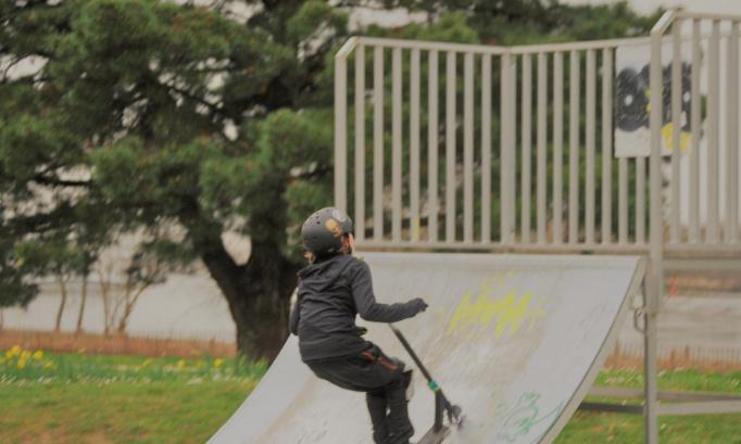 Rénovation, la sécurisation et/ou l'agrandissement du skatepark extérieur dans le parc Bikini du Pellerin.