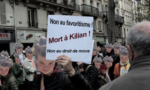 Retirons les permissions que Kilian n'a en aucun cas le droits d'avoir !