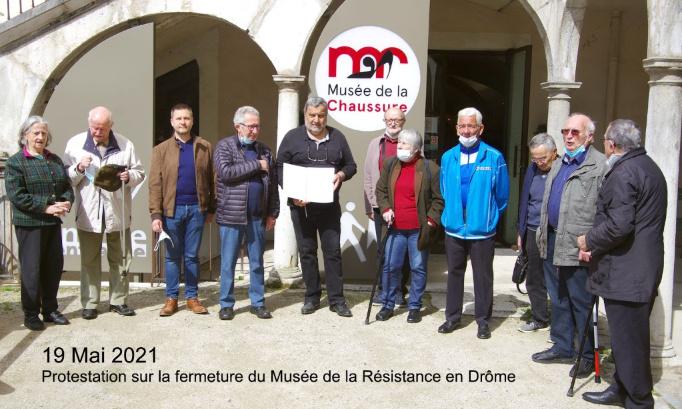 Pour le maintien du musée de la résistance et de la déportation de Romans sur Isère