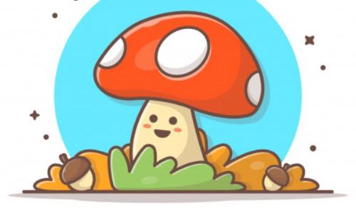 Les champignons sont trop mim's pour être mangés