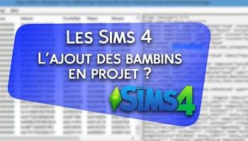 Pétition : Pour le retour des bambins dans les Sims 4 !