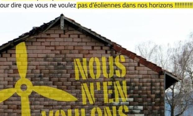 NON AUX ÉOLIENNES À L'HÔTELLERIE