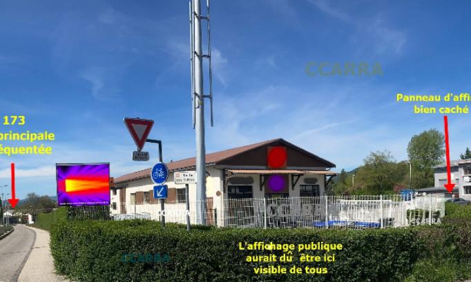 Pétition : Une antenne relais pour l'opérateur Orange de 13 m de hauteur a été montée hâtivement mardi 04 mai 2021 à l'entrée de la rue des Rutys sur la commune de Pringy (74370),ceci à l'insu des riverains, puisque  cause corona et vacances tous étaient absents