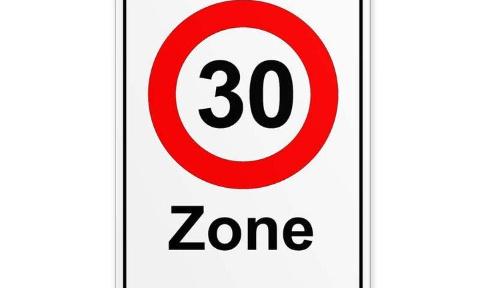 Nous demandons la limitation de vitesse à 30km/h dans le village d'Orbais