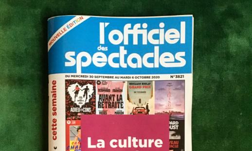 """""""L'officiel des spectacles"""" pour un retour définitif du journal papier !"""