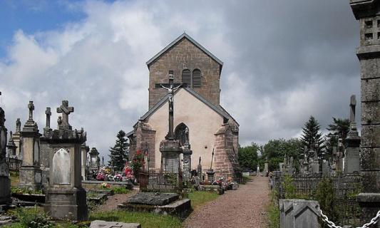 Sauver le cimetière antique Saint Martin de Faucogney