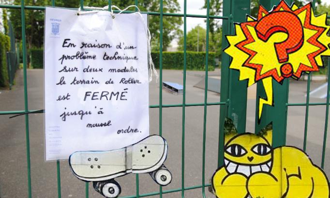 Pour un nouveau skatepark et un bowl à Sèvres !