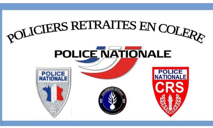 Pétition : POLICIERS RETRAITÉS EN COLÈRE