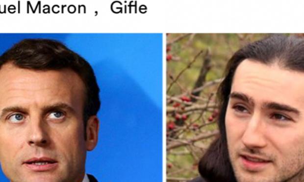 Damien Tarel 4 mois de prison ferme pour une simple gifle à Macron