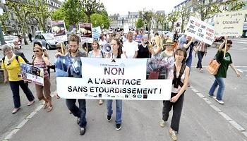 Pétition : Non à l'abattoir provisoire halal à Belfort ! Non à l'abattage rituel sans étourdissement sur le territoire français !