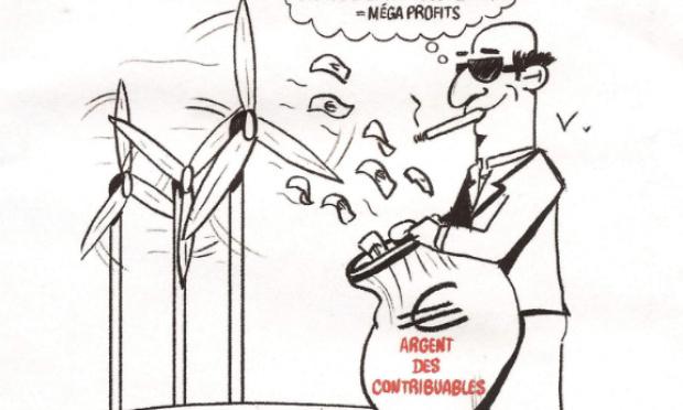 Le traquenard éolien doit prendre fin