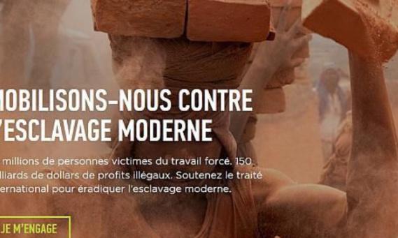 Arrêter l'esclavage moderne !