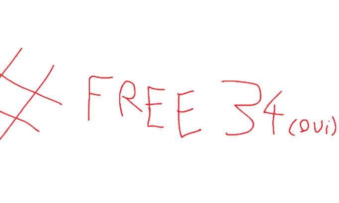 #Free34OuiOui