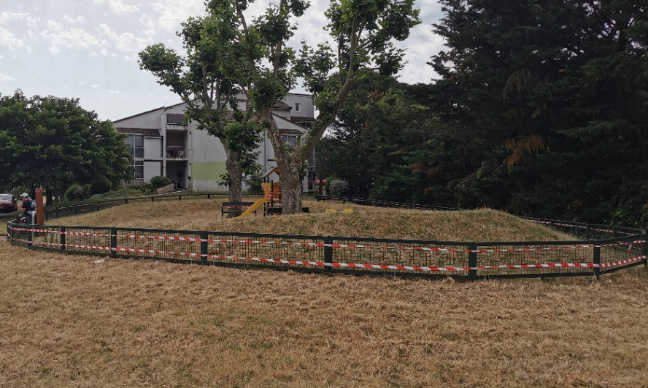 Non à la destruction du parc quartier les champs et au remplacement par des HLM