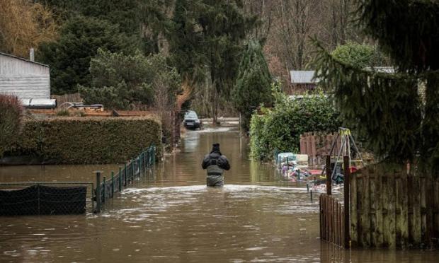 Inondations évitables en région liégeoise - absence de gestion du barrage d'Eupen.