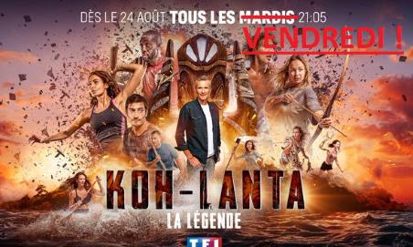 NON à Koh-Lanta le mardi !