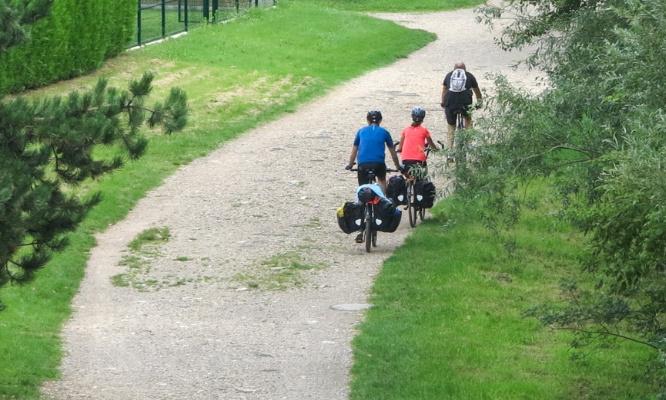 Non à l'enrobé sur le chemin de halage (future vélo-route 50)