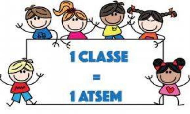Un(e) ATSEM pour la classe de grande section de Mme Browne