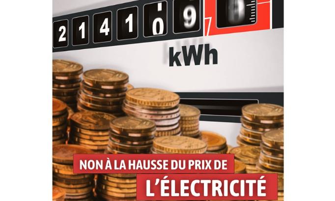 Interdisons la hausse du prix de l'électricité