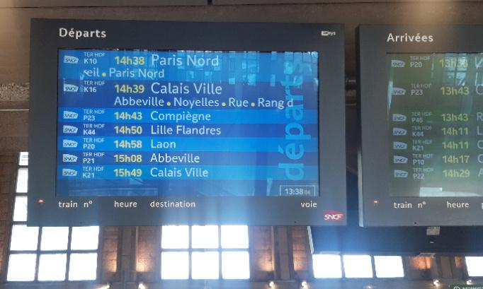 Pour que cessent les retards et les suppressions de TER sur la ligne Amiens-Laon