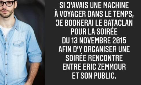 Plainte du public d'Eric Zemmour contre Gaétan Matis