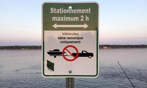 Pétition : Rétablir l'ancienne signalisation pour les stationnements du quai