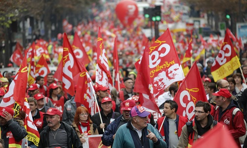Pétition : Les syndicats: Oui ! La CGT : Non ! - Dissolution de la CGT!