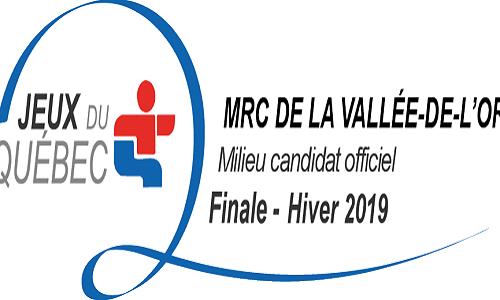 Pétition : Pour un appui à la candidature de la MRC de la vallée-de-l'or pour l'obtention de la finale des jeux du Québec!