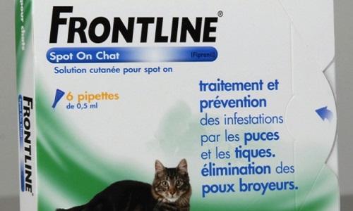 Contre la dangerosité de la gamme Frontline et son retrait du marché !