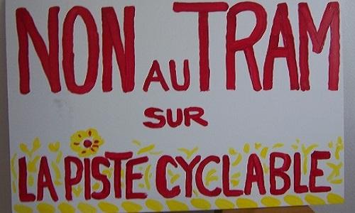 Sauvons la piste cyclable Bordeaux/Lacanau de l'extension Tramway et promouvons le  BHNS