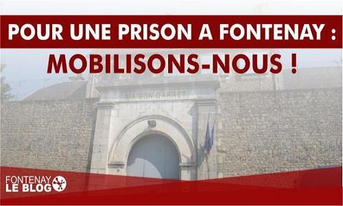 Pétition : Pour une nouvelle prison à Fontenay le Comte : mobilisons-nous !