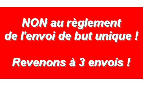 P tition contre le r glement de l 39 envoi unique du but en for Reglement jeu de petanque