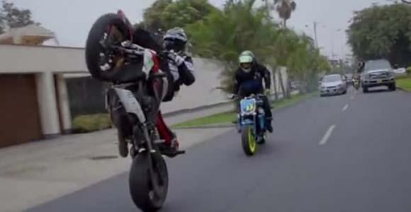 Pétition : Faire cesser les 'run' de motos sur Arue, Tahiti