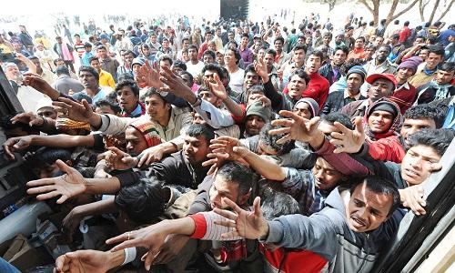 Resultado de imagen de accueil des migrants en europe