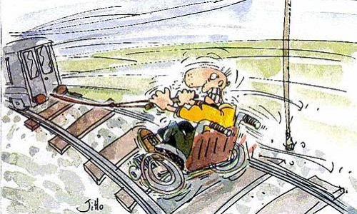 Pétition : Handicap : voyager dans des conditions dignes et humaines dans les trains de la S.N.C.F