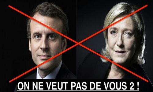 Pétition : Anti Macron et Anti Le Pen, on ne veut pas d'eux !
