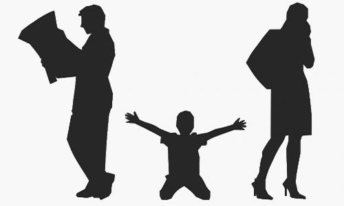 Pétition : La garde des enfants pour un père