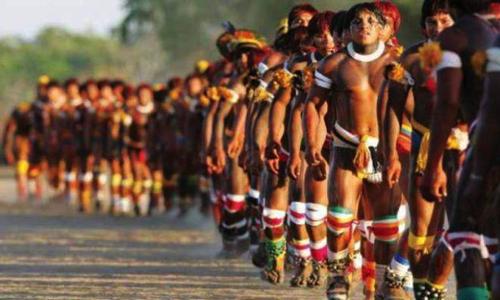 Peuple guaraní et ses traditions