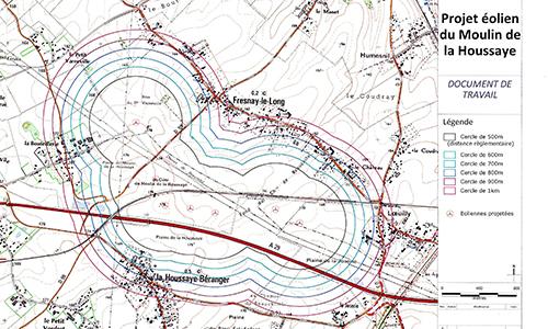 Pétition : Non au projet eolien du moulin de la houssaye (Seine Maritime)