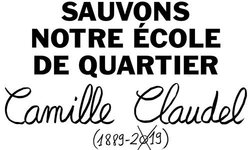 Pétition : Non à la fermeture de l'école Camille Claudel dans le quartier du Castelviel