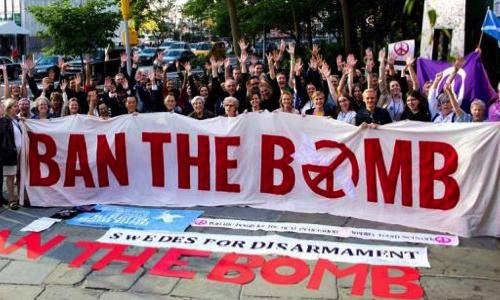 La France doit signer le Traité d'interdiction des armes nucléaires.
