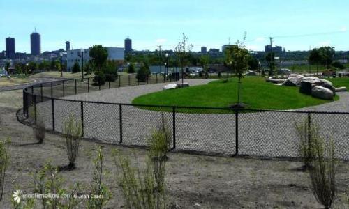 Pour la création d'un parc canin clôturé : Suresnes/ Puteaux.