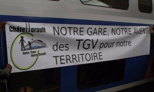 Pétition : Châtellerault, notre gare, notre avenir