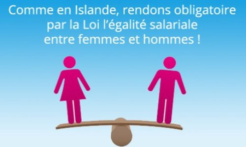 Pétition : Pour une loi rendant obligatoire l'égalité salariale entre femmes et hommes !