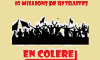 10 millions de retraités en colère